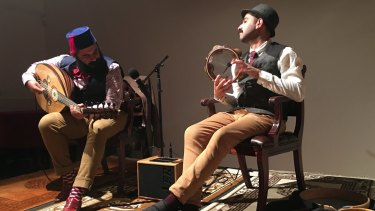The Tawadros brothers' unique connection makes for thrilling improvisation.