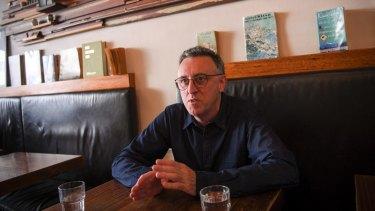 Tony Martin at Batch cafe in Balaclava.