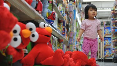 Toys R Us are doing well in Australia, with $242 milllion in annual revenue.