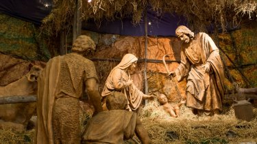 Nativity scene: The Christmas story, if true, is the guarantee of hope.