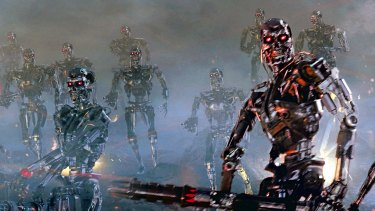 The dystopian vision from <i>Terminator 3: Rise of the Machines</i> might not be so far-fetched.