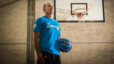 New Canberra Capitals head coach Paul Goriss.