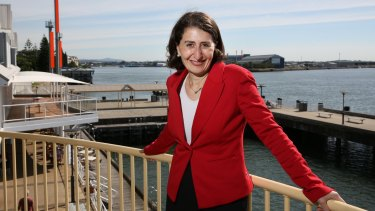 Much work to do: Transport Minister Gladys Berejiklian.