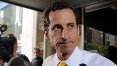 Disgraced: Anthony Weiner.
