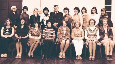 The Queensland Police Service Rape Squad, established in 1975 and pictured here in 1977.
