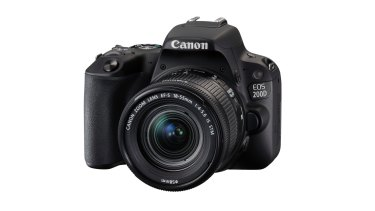 Its compact size makes the 200D an easy camera to use for smartphone photographers.