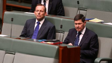 Outspoken backbenchers: Both Tony Abbott and Kevin Andrews have questioned Malcolm Turnbull's approach to leadership.