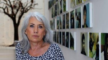 White Rabbit founder, Judith Neilson, in her gallery in Chippendale, Sydney.