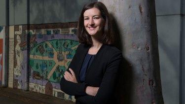 Ellen Sandell, the Greens MP for Melbourne
