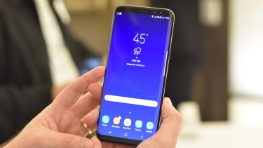 Hands on: The first glimpses of the new Samsung Galaxy S8.