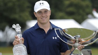 American superstar Jordan Spieth might be almost too clean to sell in modern marketing terms and so the sport needs intense competition for him to thrive in.