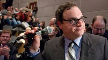 Ezra Levant in 2010. Sun Media apologised for an on-air rant by Ezra Levant about Justin Trudeau and the Liberal leader's famous parents. It was read by a narrator; Levant didn't deliver the mea culpa.