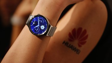 The Huawei Watch, which is available in Australia.