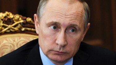 Russian President Vladimir Putin: aware of situation.