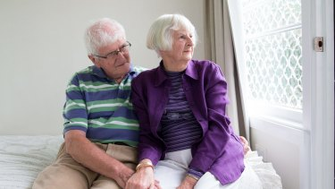 Margaret and Tony Corley have now installed extra security doors and screens, and an alarm in their Kempsey home.