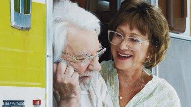 Helen Mirren and Donald Sutherland in The Leisure Seeker.