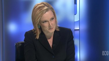 Leigh Sales stuck to her line of inquiry.