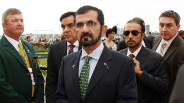 Passion for thoroughbreds: Sheikh Mohammed Bin Rashid Al Maktoum.