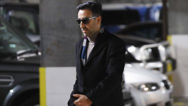 Lawyer Sevag Chalabian is accused of laundering blackmail money through a trust account.