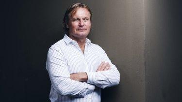 Sydney investor Peter Morgan.