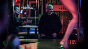 Damon Herriman (left) and Scott Ryan in the TV series Mr Inbetween.