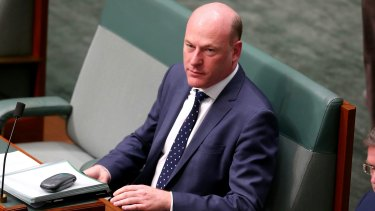 Liberal MP Trent Zimmerman is working on the bill with Senator Dean Smith.