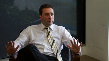 Matthew Guy: predictably wants to get tough on crime.