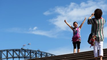 High hurdles: A peak tourism lobby group says Australia needs to make it easier for Chinese visitors to travel here.