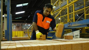 Brickworks says its manufacturing plants are facing a 40 per cent rise in energy prices.