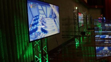 Wide screens will offer Glitch gamers the ultimate experience.