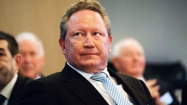 Andrew Forrest, who spoke briefly with the ACCC's Rod Sims, says he does not believe his suggestion of an iron ore cap breached the law.
