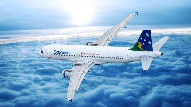 The entire Solomon Airlines fleet was grounded on Tuesday following a dispute with the Solomon Islands government.