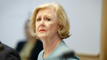Human Rights Commission president Gillian Triggs, based in Sydney - for now.