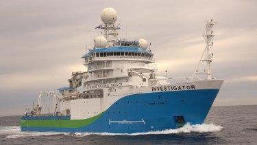 All at sea?: Australia's marine science flagship, RV Investigator.