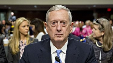 "Donald Trumps choice for defence secretary, James ""Mad Dog"" Mattis has been confirmed by the US Senate."