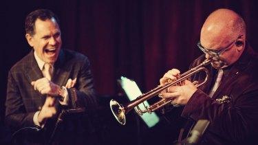 Kurt Elling and James Morrison make an unusual combination.