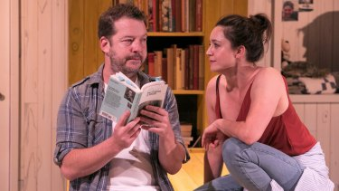 Justin Smith and Emma Jackson in Jesus Wants Me for a Sunbeam.