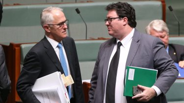 Prime Minister Malcolm Turnbull and George Christensen both support Australia becoming a Republic.