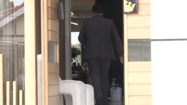 Police have raided the home of Salim Mehajer.