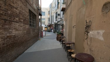 Bakery Lane in Fortitude Valley.