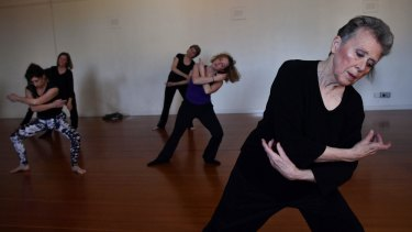 A study in dance with Judy Leech.