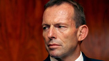 """""""I did everything I could to help the Prime Minister win the election. We just got there"""": Tony Abbott."""