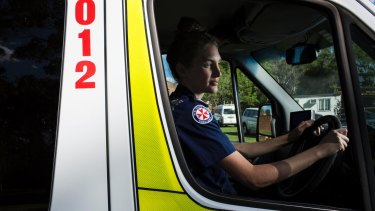 """Your bucket can start to get quite full"": Paramedic Fiona Gwyther."