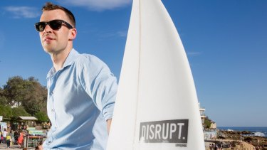 Gary Elphick, co-founder of customised sports equipment manufacturer Disrupt, is disillusioned after his business partner was deported.
