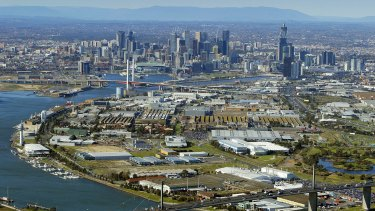 There has been a dramatic rise in land values in Fishermans Bend since the now opposition leader Matthew Guy's controversial 2012 rezoning of the 250 hectare precinct across South and Port Melbourne.