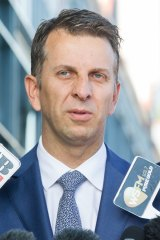 """""""The biggest upheaval to the CBD in generations"""": Andrew Constance."""