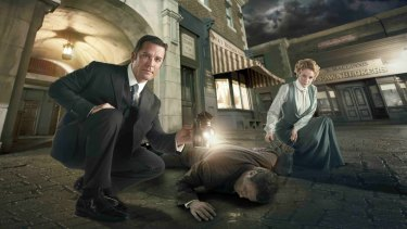 Fun period crime drama in the Murdoch Mysteries.
