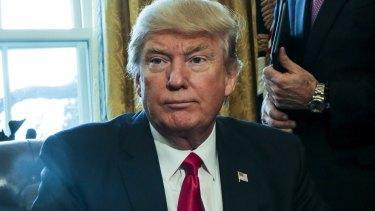 Trump: furious.