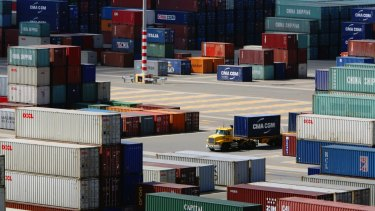The report describes global trade as 'exceptionally weak'.