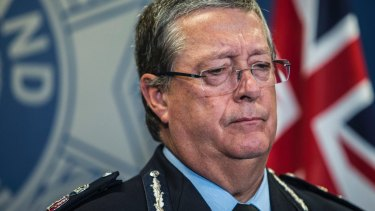 """Queensland Police Commissioner Ian Stewart has apologised """"unreservedly""""."""